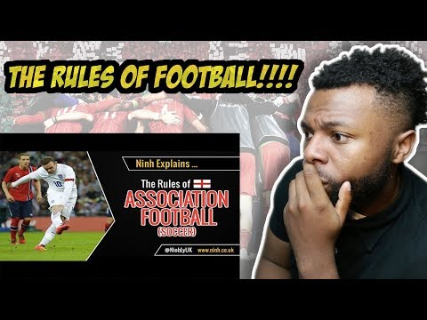 The Rules of Football (Soccer or Association Football) - EXPLAINED Reaction