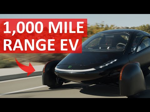2021 Aptera Electric Roadster: 1,000 Mile Range EV with Solar Charging