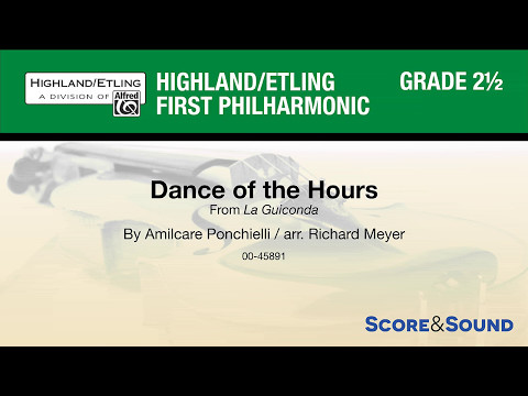 Dance of the Hours, arr. Richard Meyer – Score & Sound
