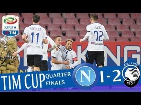 Napoli - Atalanta 1-2 - Highlights - TIM Cup 2017/18