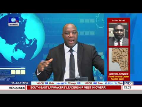 Business Incorporated: T/Bills, Bonds Trading Updates With Gbenga Sonaike