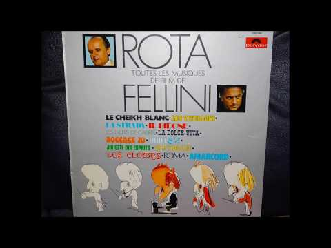 Nino Rota [arr. & dir. Carlo Savina] - scores for Fellini part 2 (1974, Vinyl)