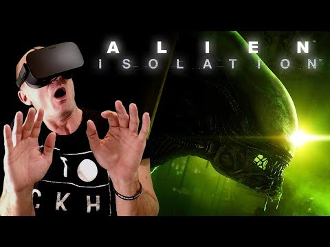 CREEPY ALIENS IN VIRTUAL REALITY | Alien Isolation (NEW VR MOD) Oculus Rift Gameplay