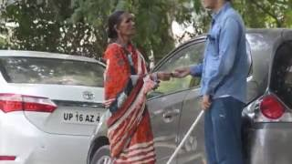Blind Man Honesty Test.| social experiment In India reactions will shock you!!