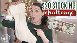 What's in my Kids' Stockings? $20 STOCKING CHALLENGE! | Preschool Twin Boys | Natalie Bennett