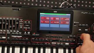 How to set Korg PA4X and SongBook+ on iPad