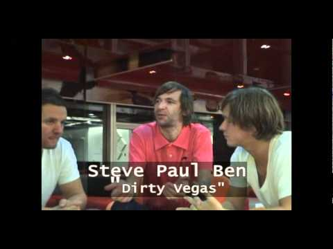 an interview with Dirty Vegas by THE NATION