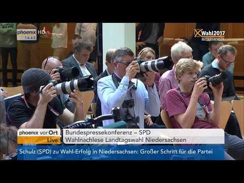 Martin Schulz zur politischen Lage der SPD am 16.10.2017