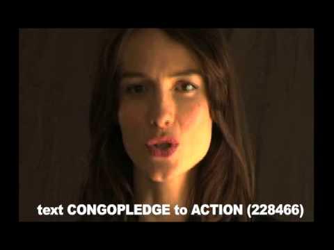 Actors Come Clean For Congo