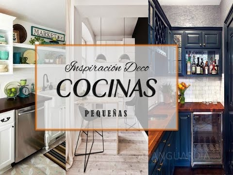 Cocinas peque as cocinas modernas ideas de decoraci n for Decoracion para cocinas pequenas