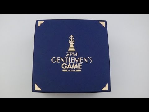 Unboxing 2PM 투피엠 6th Studio Album Gentlemen's Game (Limited Edition)