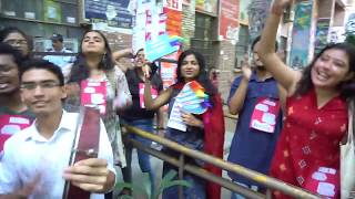 Great Enthusiastic Gathering : JNUSU Election Day till Pre-Lunch Hour