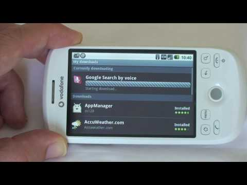 HTC Magic Mobile Phone - Part 2 - Camera, Android Market & YouTube