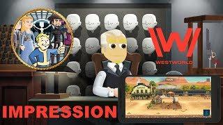 Westworld Android Gameplay Impression (Simulation)