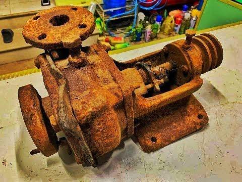 Restoration Ship Pump very old | Rusty ship tool restore