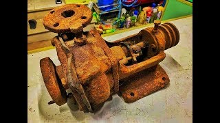 Restoration Ship Pump very old | Rusty ship tool restore