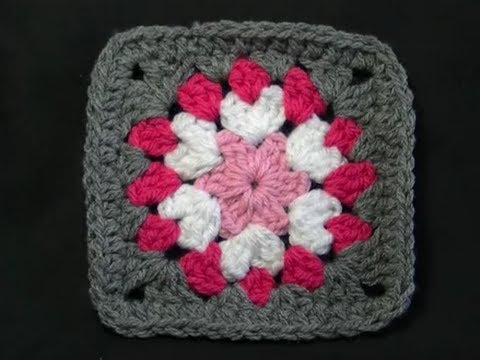 Not So Square Granny Crochet Tutorial Youtube