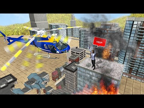 Police Heli Rescue Alert (by Vital Games Production) Android Gameplay [HD]