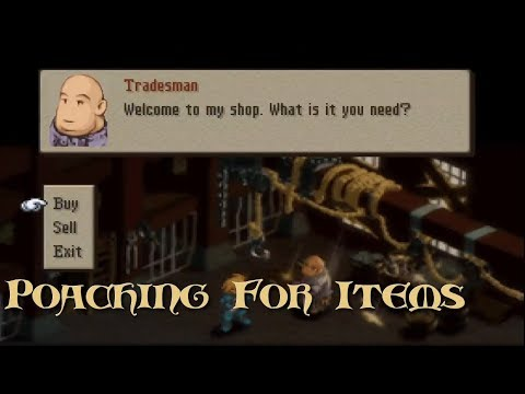 Final Fantasy Tactics: The War Of The Lions - Poaching For Items