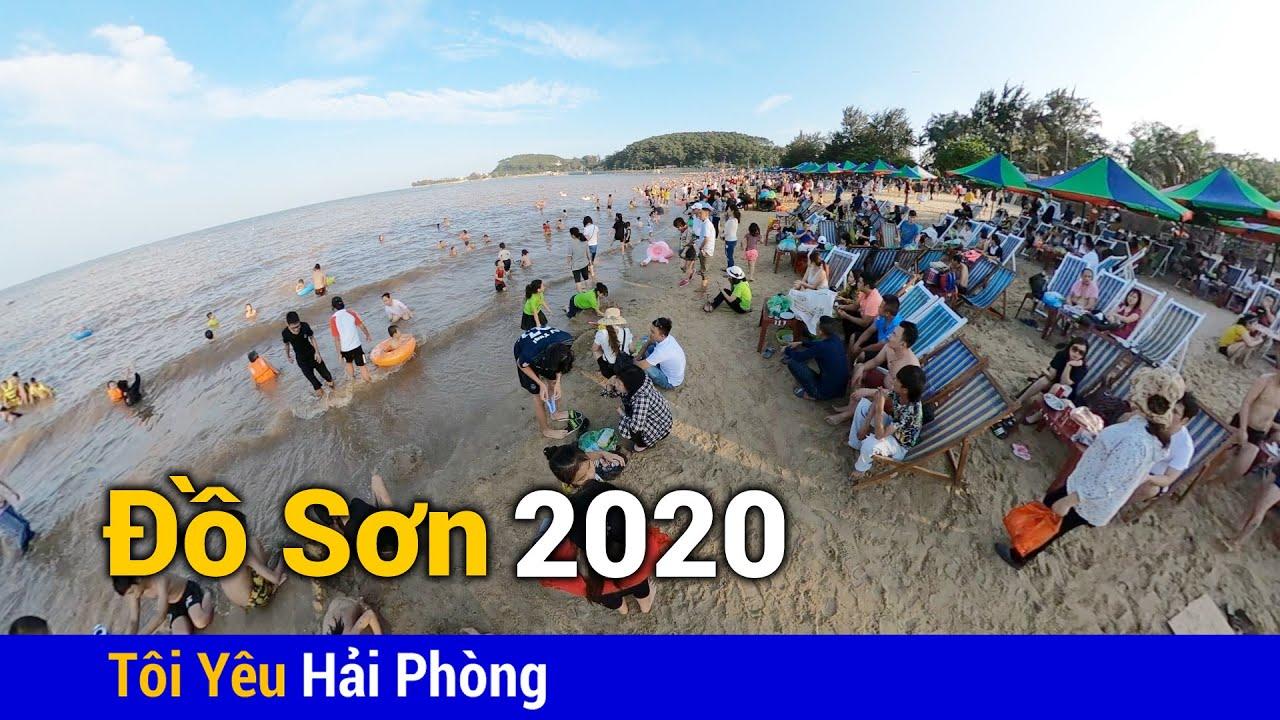Khu 2 bãi biển Đồ Sơn ở Hải Phòng năm 2020