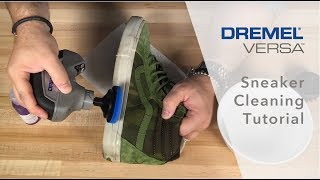 How to Clean your Sneakers with the Dremel Versa