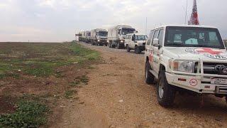 الصليب الأحمر لأخبار الآن: قصف قوافل الإغاثة لن يؤثر على أنشطتنا بسوريا