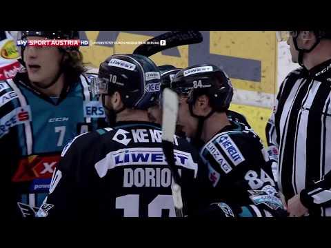 Erste Bank Eishockey Liga 17/18, 40. Runde: Black Wings Linz - Dornbirn Bulldogs 5:2