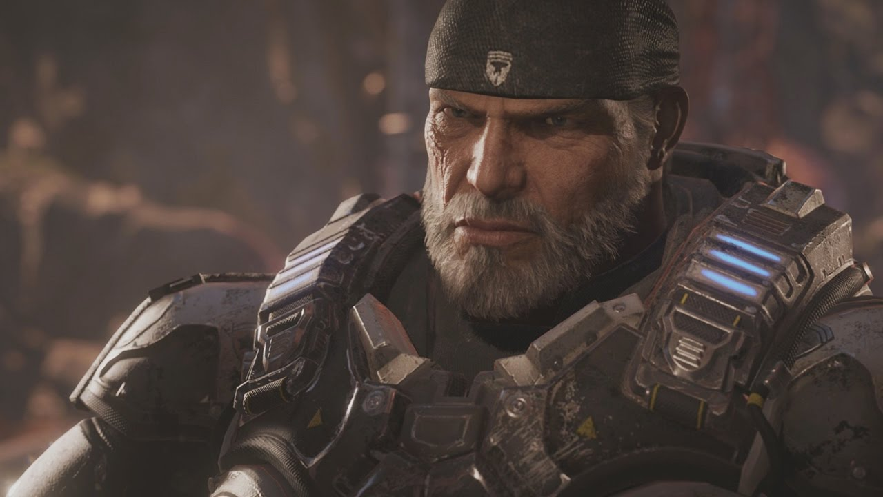 Gears Of War 4 All Marcus Fenix Scenes