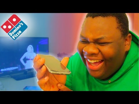 Prank Calling Dominos with Adele Hello Lyrics *Amazing Reactions*