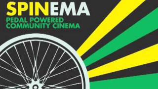 Spinema: pedal powered community cinema