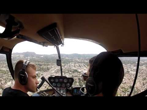 Helicopter tour of downtown Los Angeles and Santa Monica