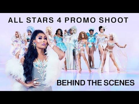 ALL STARS 4 PROMO BEHIND THE SCENES    Gia Gunn
