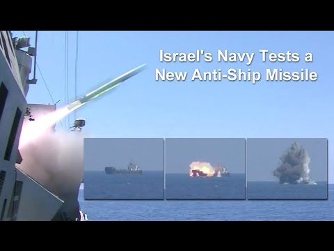 Israel's Navy New Anti-Ship Missile