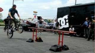 DC BMX CREW SMALL RAIL JAM @ GUNSMOKE.MOV