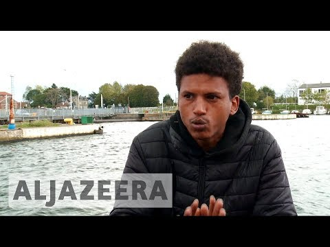 France town becomes transit point for refugees trying to reach UK