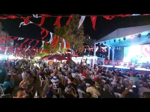 15 Temmuz anma etkinlikleri Taksim Meydanı Canlı Yayın