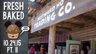What's new in pin trading  Let's find out at Westward Ho   10-25-15 Pt. 11