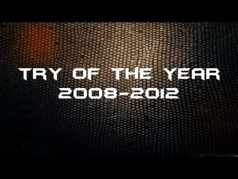 Try Of The Year 2008-2012