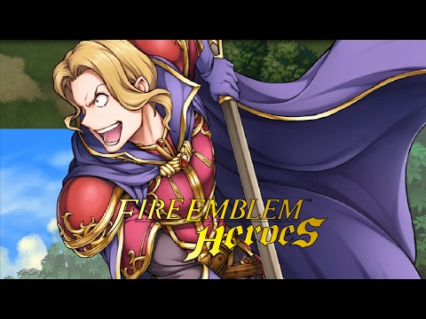 Fire Emblem Heroes (iOS & Android) - Grand Hero Battle: Narcian: Wyvern General [Hard]!