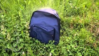 Городской рюкзак Surikat City. Тест №3. Испытание водой.(Городской рюкзак Surikat Сity не боится кратковременных осадков. Стоимость рюкзака- 230 гривен. Заказывайте дост..., 2015-06-16T10:24:35.000Z)