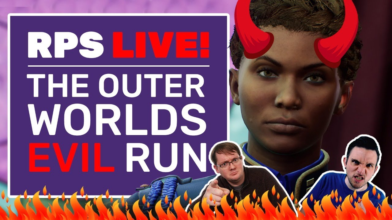 The Outer Worlds EVIL Playthrough | B*****d Run