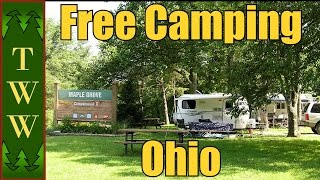 Free Camping in tнe East Pt.2: Ohio Power/AEP