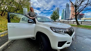 Новый Toyota Land Cruiser Prado. ОХРЕНЕННЫЙ дизель!