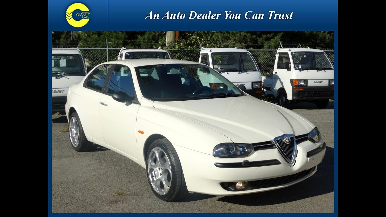 1999 Alfa Romeo 156 Type 932 For Sale In Vanocuver Bc Canada Youtube