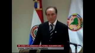 Informe sobre denuncia contra Conmebol