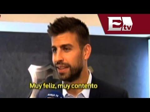 Gerard Piqué extiende su contrato laboral con el Barcelona hasta 2019/ Gerardo Ruiz