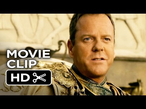 Pompeii Movie CLIP - He Would Not Dare (2014) - Kiefer Sutherland, Kit Harington Movie HD