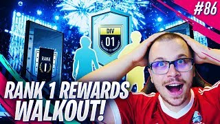 FIFA 19 MY RANK 1 DIVISION RIVALS REWARDS in DIVISION 1! WE PACK A WALKOUT!