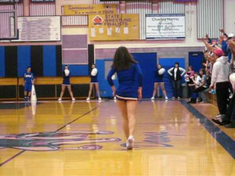 Sutherlin High School Cheerleaders March 5, 2010