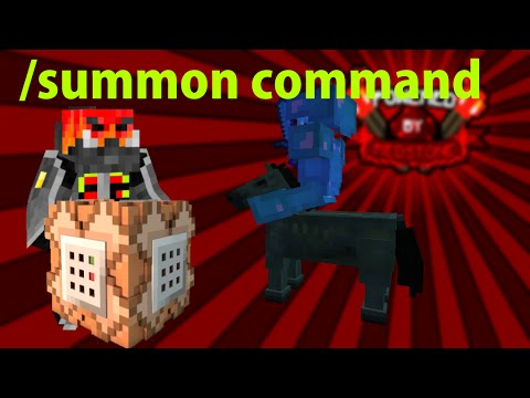 Minecraft: Summon Command Block Tutorial (Armour, NoAI, Potion Effects, Attributes enz.)
